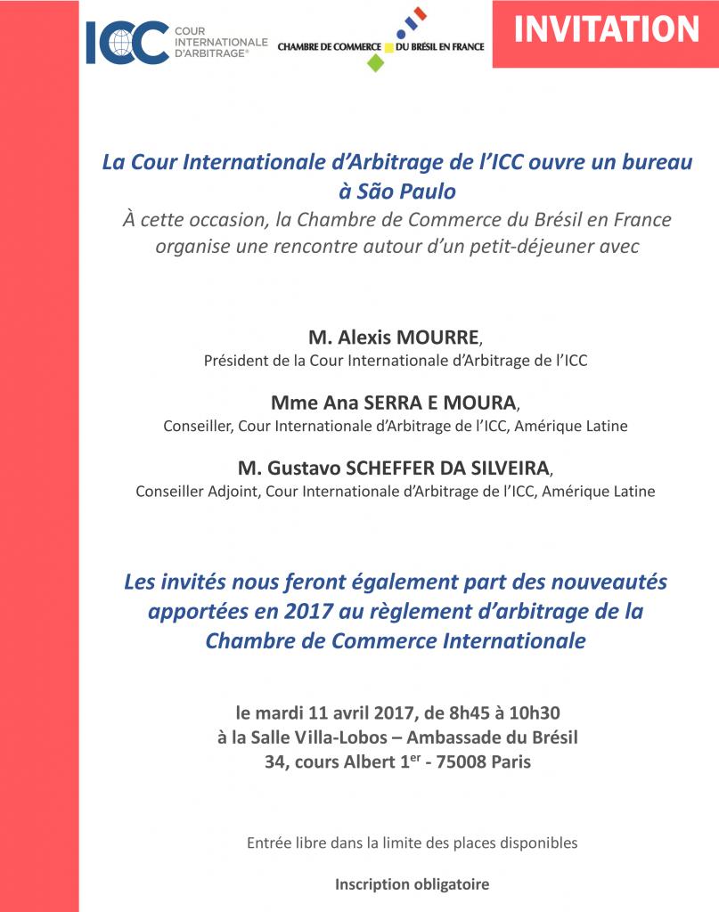 Invitation CCBF - Lancement de l'ICC
