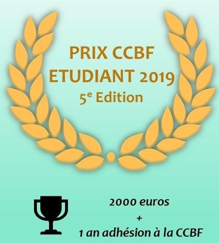 Affiche Prix etudiant CCBF 2019