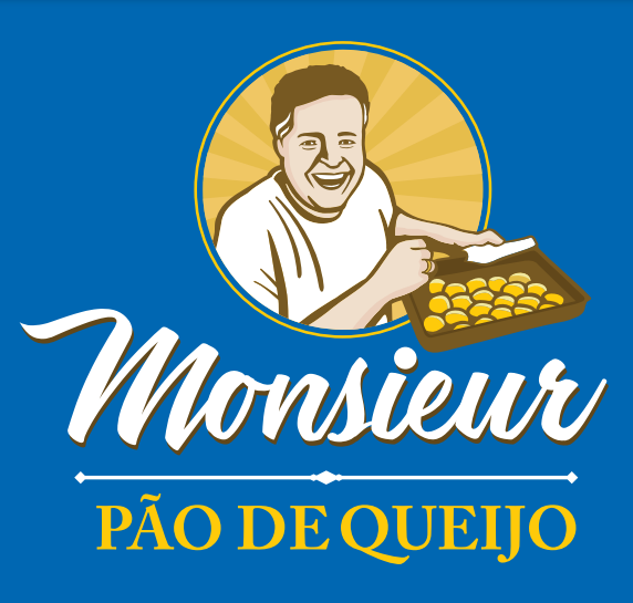 Logo pão de queijo bleu